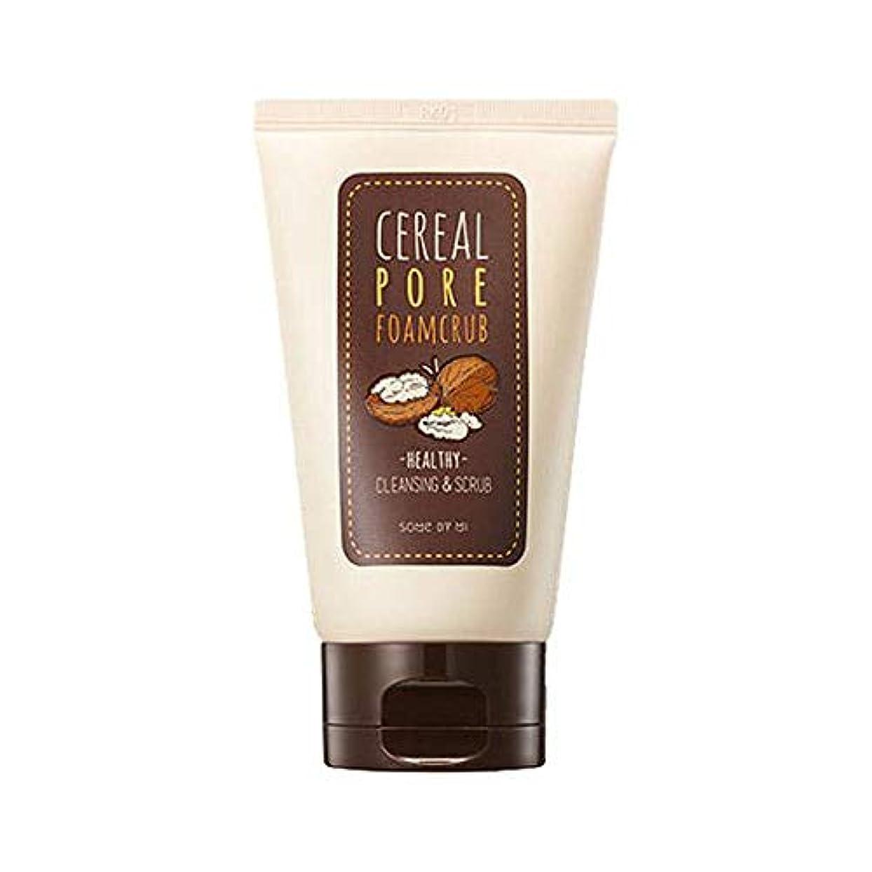 繁雑並外れて別々に[SOME BY MI/サムバイミー] Cereal Pore Foamcrub 100ml/シリアル ポア フォームクラブ 100ml スクラブ 洗顔フォーム [並行輸入品]