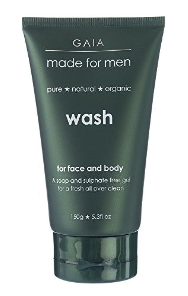 錫扇動する懐【GAIA】Face & Body Wash made for men ガイア メンズ フェイス&ボディウォッシュ 150g