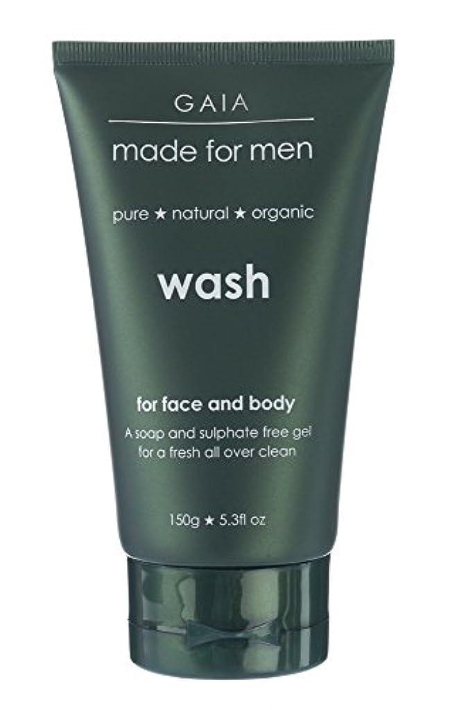 誘惑する咲くリテラシー【GAIA】Face & Body Wash made for men ガイア メンズ フェイス&ボディウォッシュ 150g