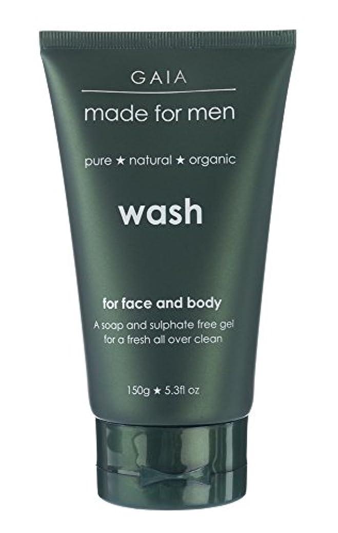 固める悲しみカウンタ【GAIA】Face & Body Wash made for men ガイア メンズ フェイス&ボディウォッシュ 150g 3本セット