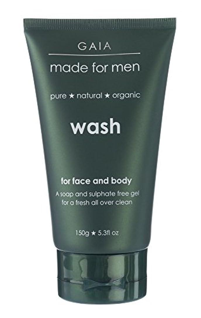 宇宙の移植ヘルメット【GAIA】Face & Body Wash made for men ガイア メンズ フェイス&ボディウォッシュ 150g 3本セット