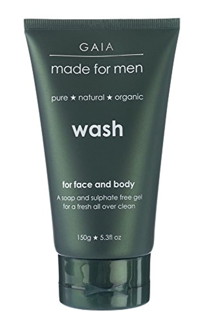【GAIA】Face & Body Wash made for men ガイア メンズ フェイス&ボディウォッシュ 150g 3本セット
