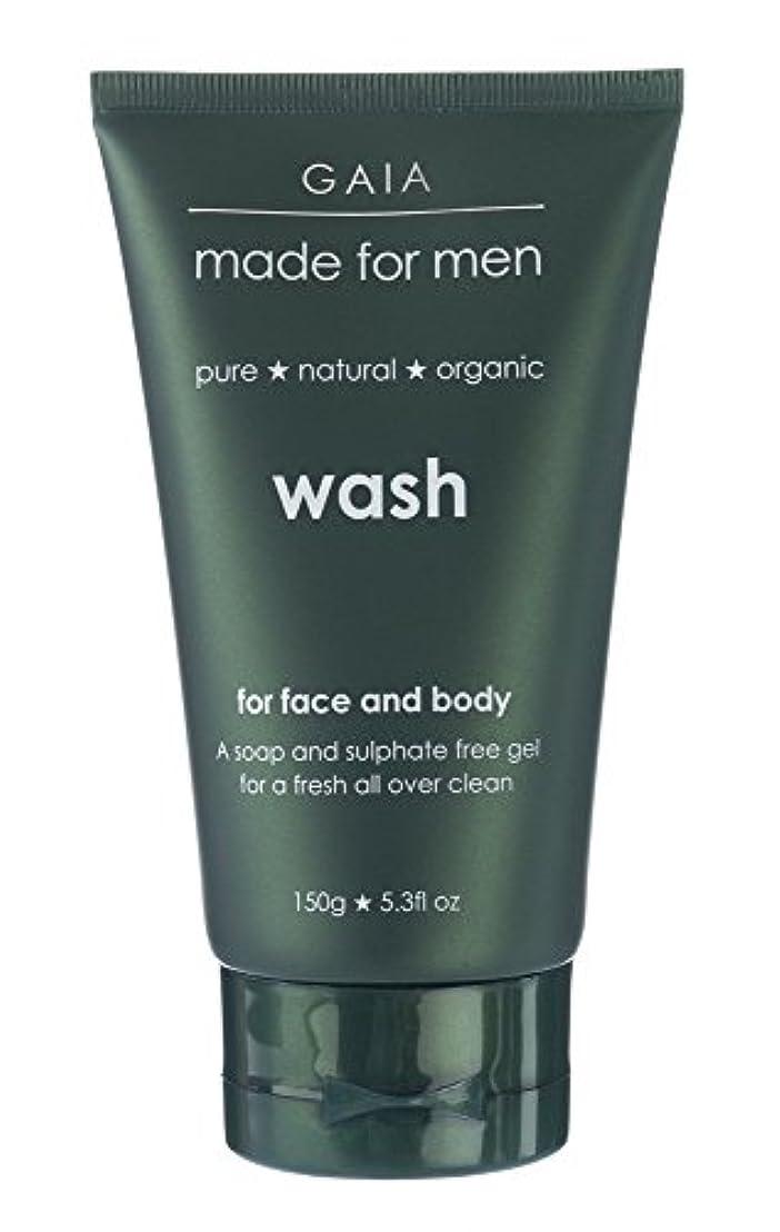 丘出席管理します【GAIA】Face & Body Wash made for men ガイア メンズ フェイス&ボディウォッシュ 150g