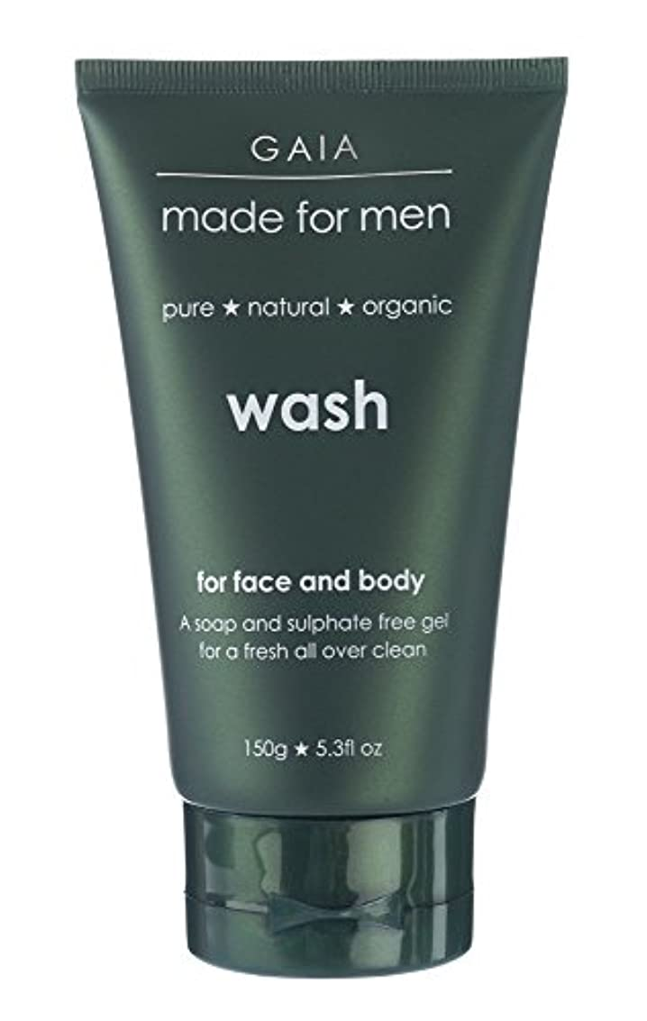 ヘルパー鬼ごっこおじさん【GAIA】Face & Body Wash made for men ガイア メンズ フェイス&ボディウォッシュ 150g