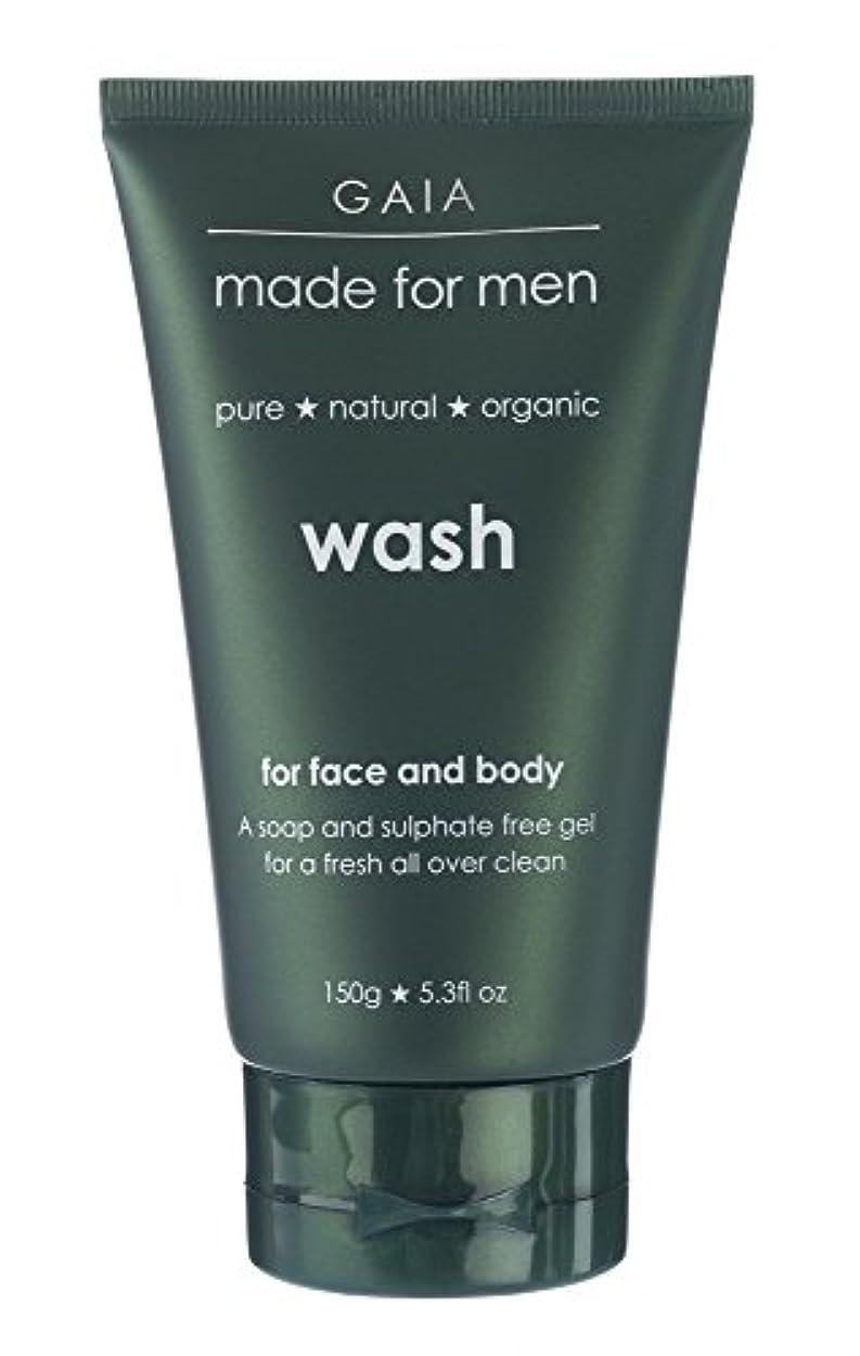 進捗コーヒー矢印【GAIA】Face & Body Wash made for men ガイア メンズ フェイス&ボディウォッシュ 150g 3本セット