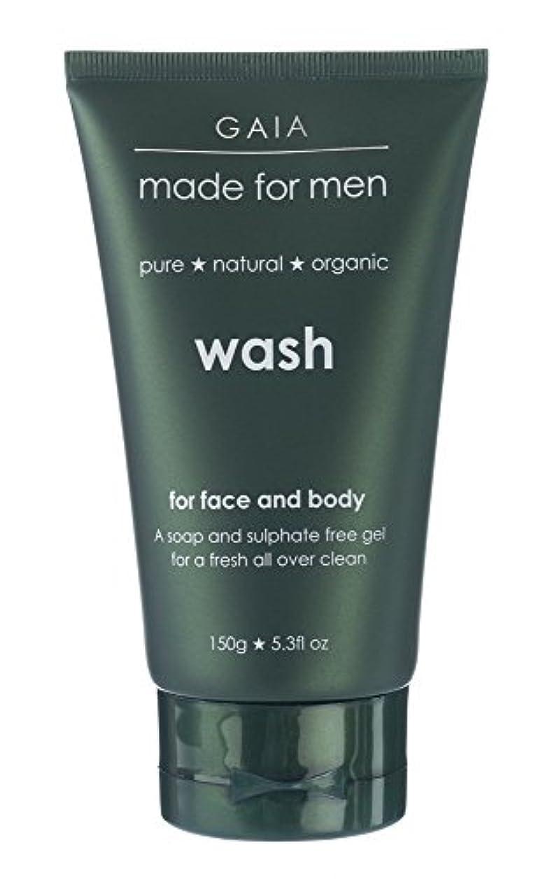 銃オートマトン変成器【GAIA】Face & Body Wash made for men ガイア メンズ フェイス&ボディウォッシュ 150g 3本セット
