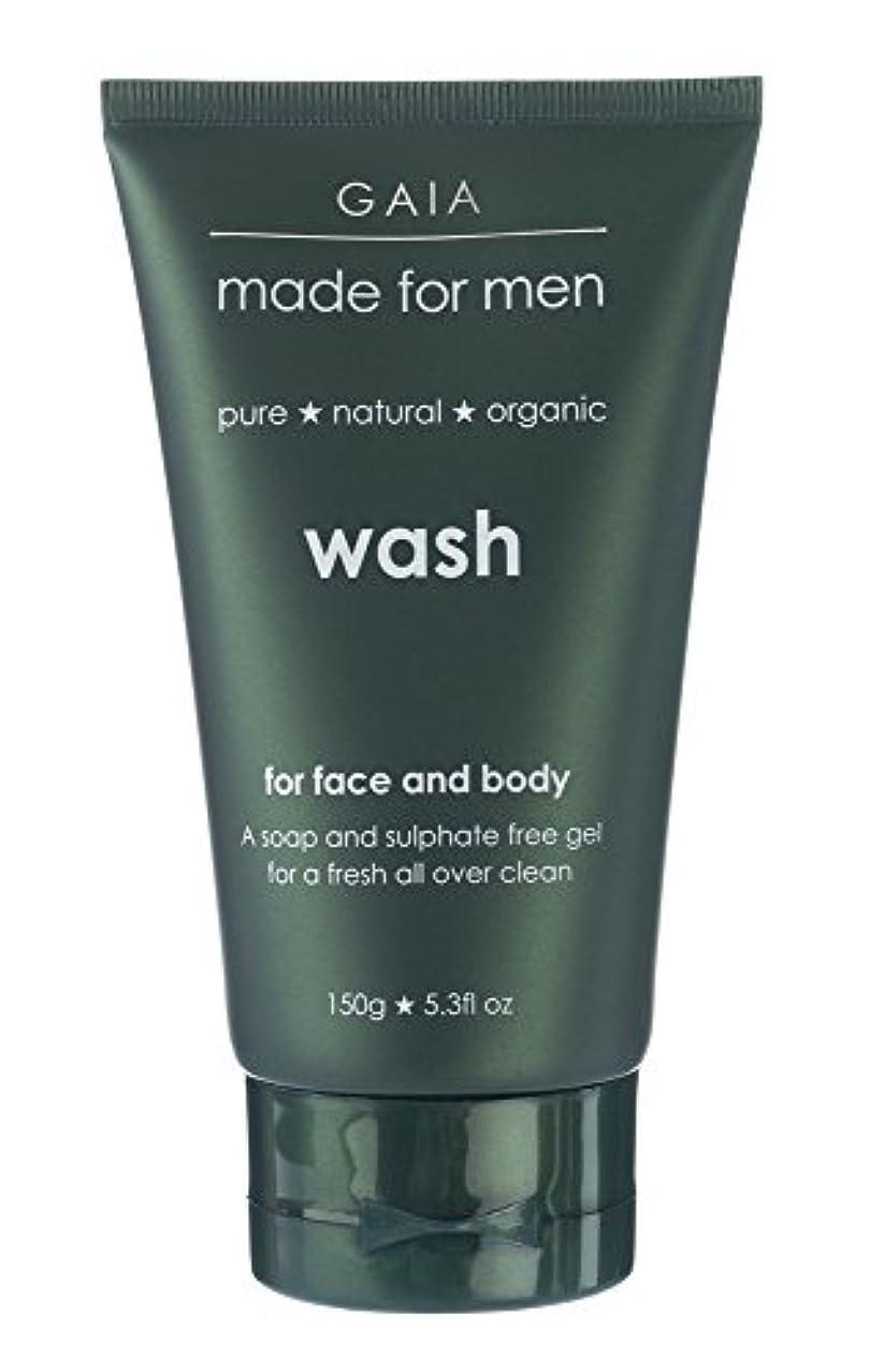 違反懐断言する【GAIA】Face & Body Wash made for men ガイア メンズ フェイス&ボディウォッシュ 150g 3本セット