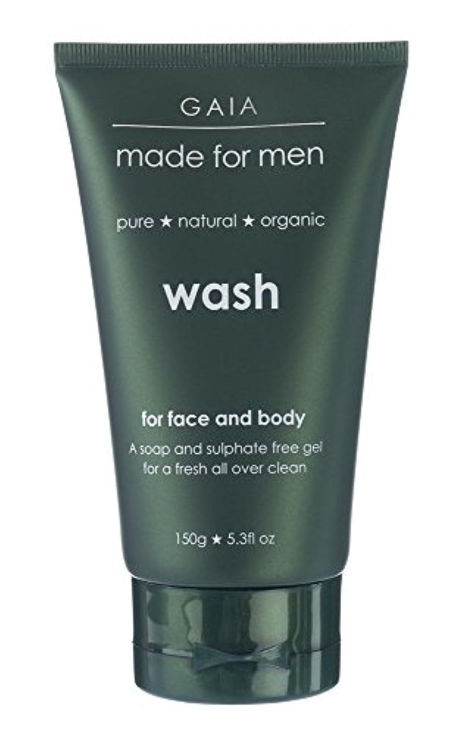 否認する料理をする結論【GAIA】Face & Body Wash made for men ガイア メンズ フェイス&ボディウォッシュ 150g 3本セット