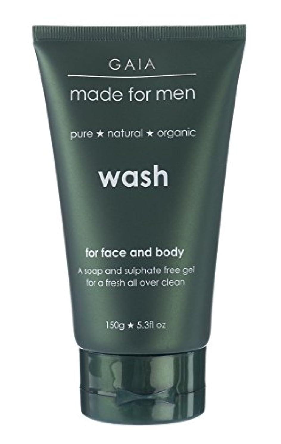 刈るデイジー電極【GAIA】Face & Body Wash made for men ガイア メンズ フェイス&ボディウォッシュ 150g