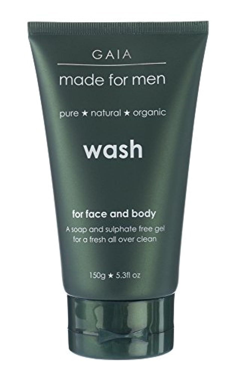 霊怒っているサスペンション【GAIA】Face & Body Wash made for men ガイア メンズ フェイス&ボディウォッシュ 150g