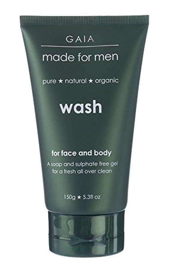 霜慈悲深い物理学者【GAIA】Face & Body Wash made for men ガイア メンズ フェイス&ボディウォッシュ 150g