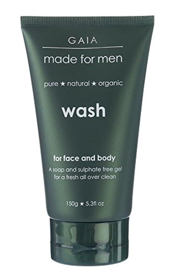 リーガン自動車アボート【GAIA】Face & Body Wash made for men ガイア メンズ フェイス&ボディウォッシュ 150g