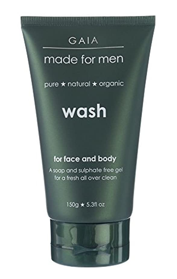 解釈するボンド超音速【GAIA】Face & Body Wash made for men ガイア メンズ フェイス&ボディウォッシュ 150g 3本セット