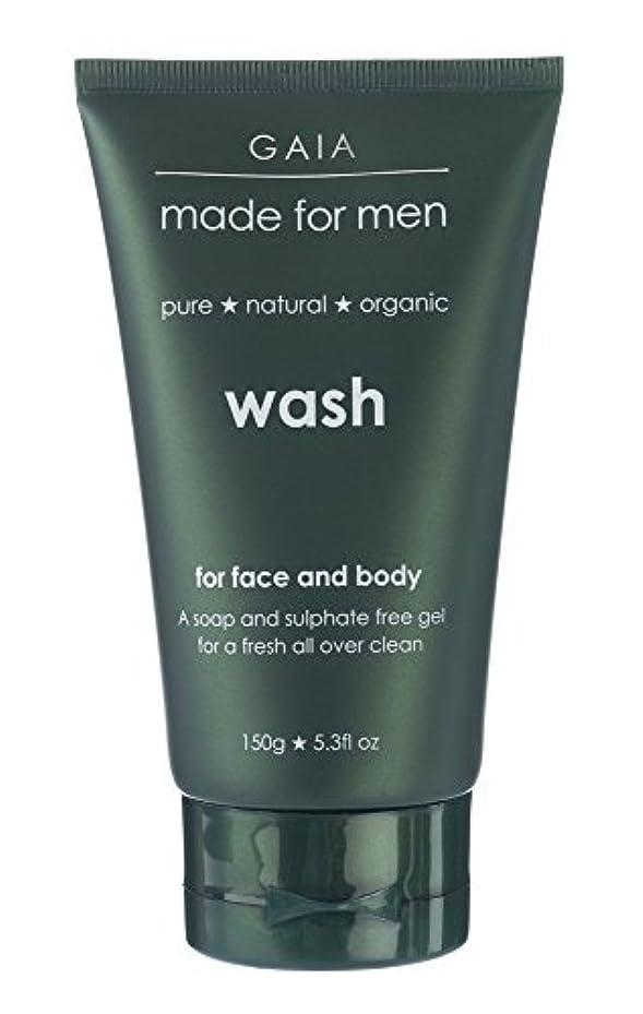 味弱点ジュース【GAIA】Face & Body Wash made for men ガイア メンズ フェイス&ボディウォッシュ 150g