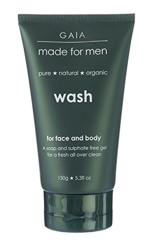 クランプ予防接種サーバント【GAIA】Face & Body Wash made for men ガイア メンズ フェイス&ボディウォッシュ 150g 3本セット