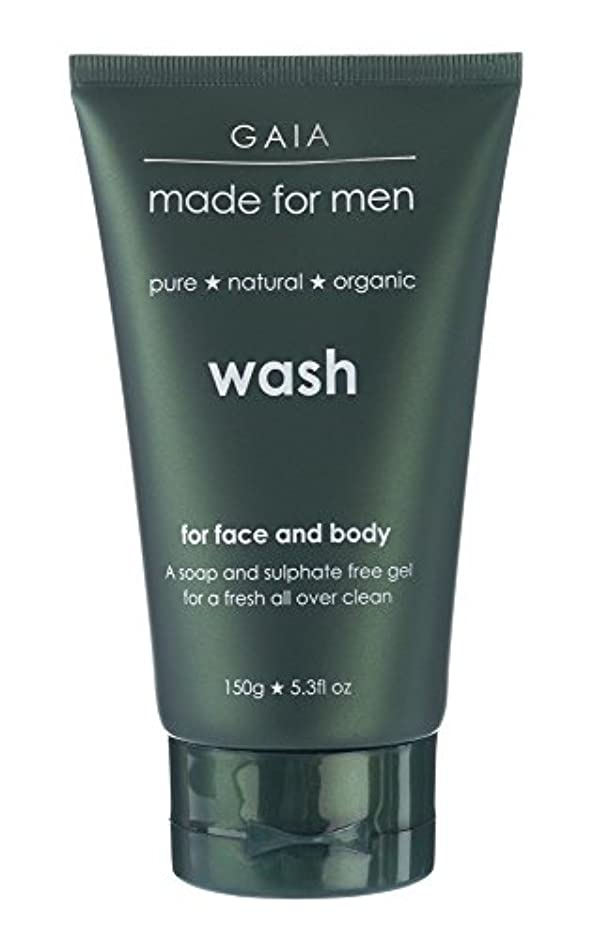 平日猟犬検索エンジンマーケティング【GAIA】Face & Body Wash made for men ガイア メンズ フェイス&ボディウォッシュ 150g 3本セット