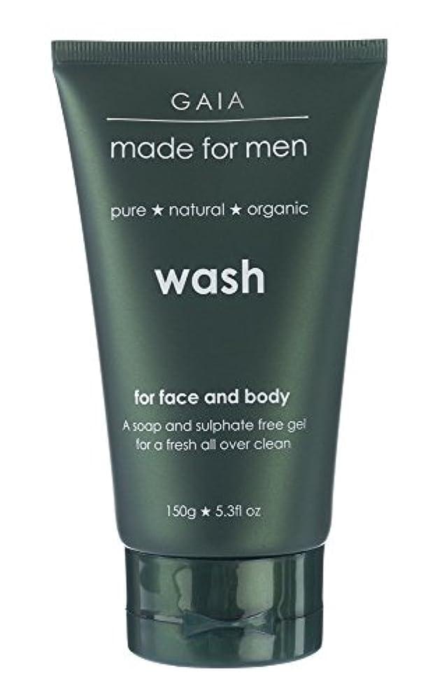 バンカー担保オセアニア【GAIA】Face & Body Wash made for men ガイア メンズ フェイス&ボディウォッシュ 150g