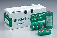 カモ井加工紙:SB-246S 15mm×18m 大箱(800個セット)