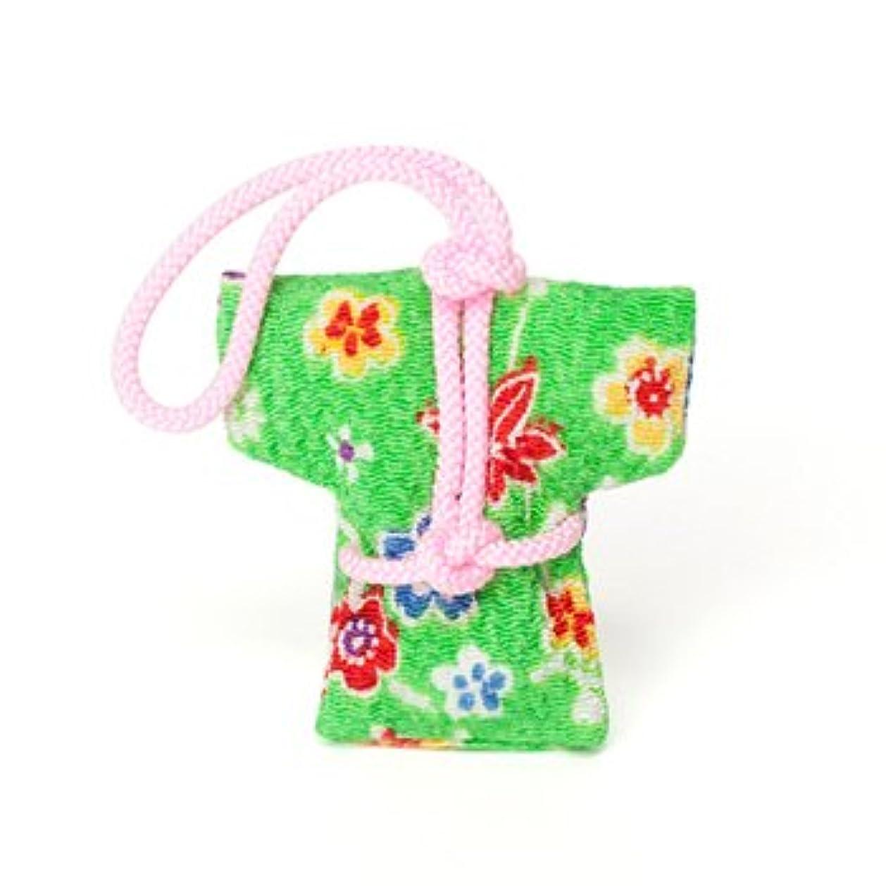 水平志すスポンジ匂い袋 誰が袖 やっこさん 1個入 ケースなし (色?柄は選べません)