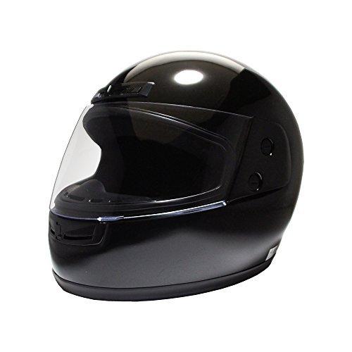 B&B フルフェイスヘルメット ブラック BB100 B00JKAM0OK 1枚目