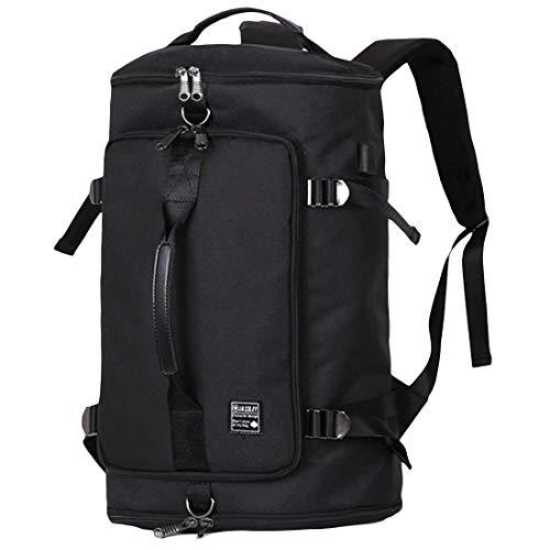 LINGYUリュックサックアウトドアビジネスリュックPCバッグ旅行大容量防水USB ポート付きTSAロック盗難防止 通学 通勤 ラップトップバック バックパック