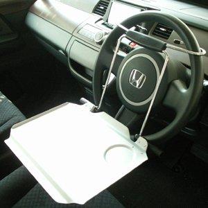 車載用ノートパソコンテーブル アルミ 100-014