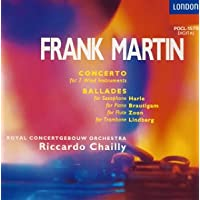 マルタン:7つの管楽器のための協奏曲/バラード集