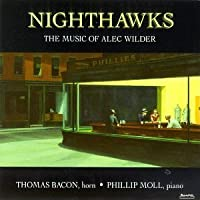 Nighthawks: Music of Alec Wilder by TOM BACON (1995-03-17)