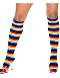 Be Wicked! Costumes BW600 Multi Stripe Knee High Adult