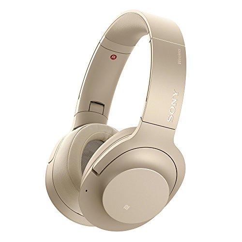 ソニー SONY ワイヤレスノイズキャンセリングヘッドホン h.ear on 2 Wireless NC WH-H900N : Bluetooth/ハイレゾ対応 最大28時間連続再生 密閉型 マイク付き 2017年モデル ペールゴールド WH-H900N N