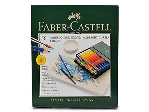 ファーバーカステル アルブレヒトデューラー水彩色鉛筆 36色セット スタジオボックス