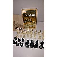 Vintage Staunton Design Chessmen 1974 by Whitman