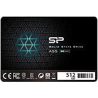 シリコンパワー SSD 512GB 【データ復旧サービス付】3D NAND採用 SATA3 6Gb/s 2.5インチ 7mm PS4動作確認済 SP512GBSS3A55S25DR