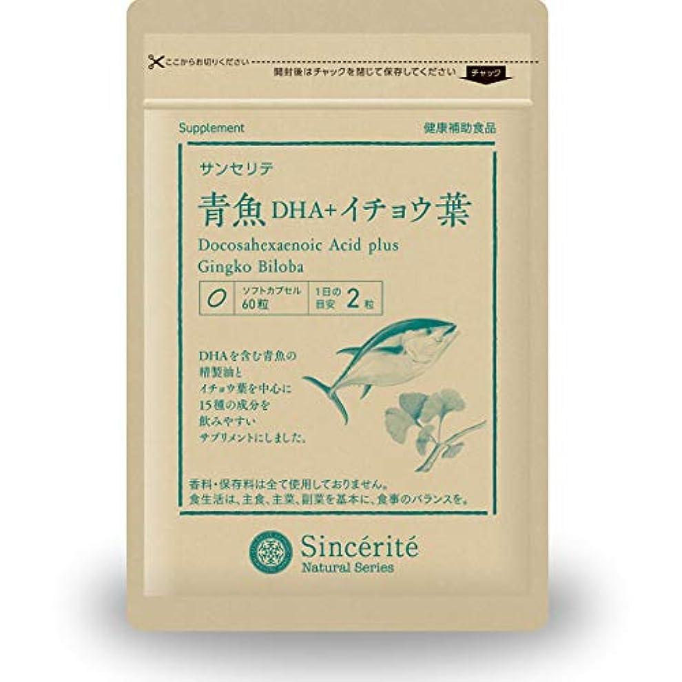 柔らかい旋回特徴青魚DHA+イチョウ葉 [DHA]101mg配合[国内製造]しっかり★30日分