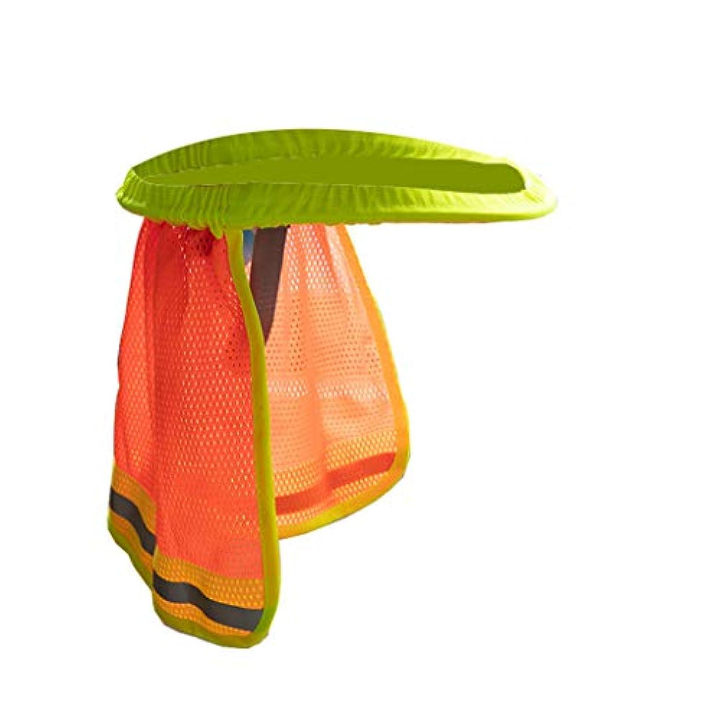 ワイヤー特別に注意安全ハードハット ネックシールド ヘルメット サンシェード サンシェード 反射性 ヘルメット