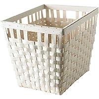 IKEA ASIA KNARRA バスケット、ホワイト