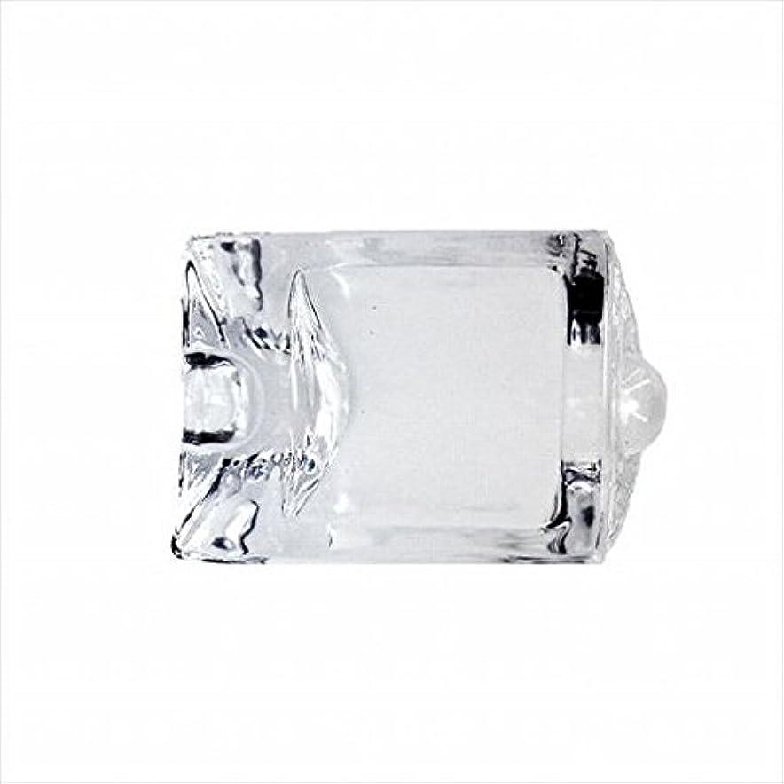ボランティアセントメタルラインkameyama candle(カメヤマキャンドル) エンジェルアイジョイント 「 Cホワイト 」 キャンドル 47x28x67mm (I8000104W)
