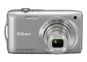 Nikon デジタルカメラ COOLPIX (クールピクス) S3300 クリスタルシルバー S3300SL