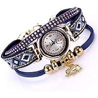 Women's Wrist Watch Quartz New Design Casual Watch Alloy Band Analog Fashion Elegant Black/White/Blue - Brown Red Blue One Year Battery Life