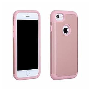iPhone 7 ケース Zeebox Apple iPhone 7 高品質 TPU + PC カバー 衝撃吸収 Apple iPhone7 用 落下防止 ハード 保護カバー 耐久 防塵 生涯補償付き (ピンク #9)