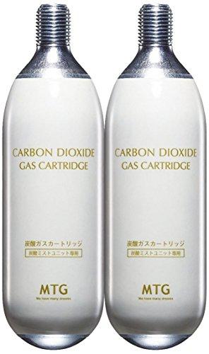MTG PLOSION(プロージョン) 炭酸ミストユニット専用ガスカートリッジ 2本
