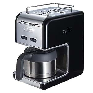 デロンギ kMix Collection ドリップコーヒーメーカー プレミアム ブラック CMB5T-BK CMB5T-BK