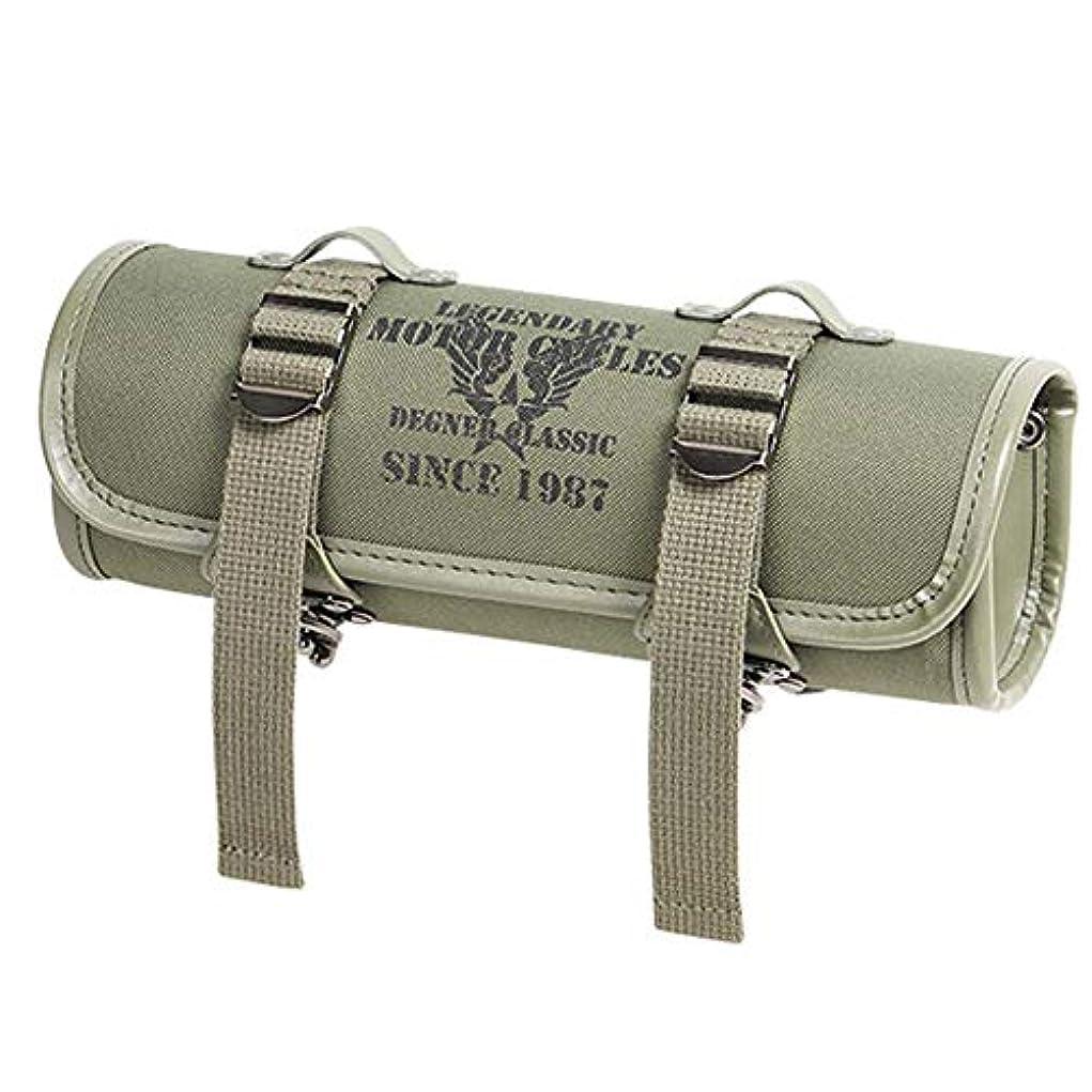 日食パネル労苦デグナー(DEGNER) テキスタイルツールバッグ/TEXTILE TOOL BAG カーキ NB-185