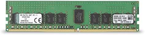 キングストン Kingston デスクトップPC用メモリ DDR4-2400 (PC4-19200) 8GB CL17 1.2V ECC DIMM  288pin KVR24R17S4/8 永久保証