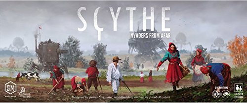 Scythe : Invaders from Afarボードゲーム