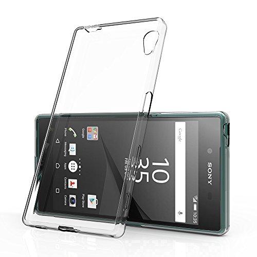 Sony Xperia Z5 ケース, Simpeak エクスペリア Z5 TPUクリア透明保護カバー 5.2インチ SO-01H/SOV32/501SO 指紋防止 衝撃防止