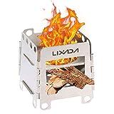 Lixada バーベキューコンロ・焚火台 焚き火台 折りたたみ式 軽量