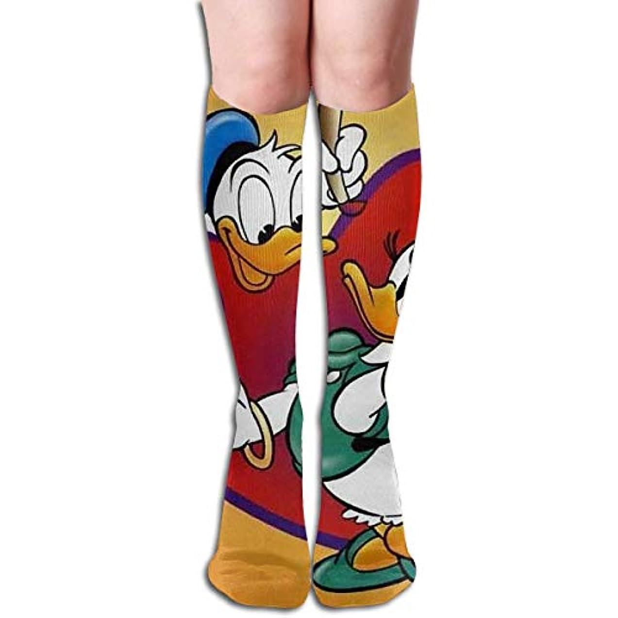 舌なやがて広いチューブのストッキングは、女性のウィンター暖かい膝ハイソックスブーツ靴下を愛する