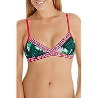 Bonds Women's New Era Triangle Crop, Oasis Navy