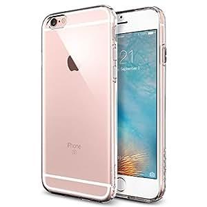 【Spigen】 iPhone6s ケース / iPhone6 ケース カプセル [ ソフト TPU ] アイフォン6s / 6 用 米軍MIL規格取得 耐衝撃カバー (クリスタル・クリア SGP11753)